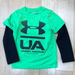 Kids Under Armour athletic shirt size 5